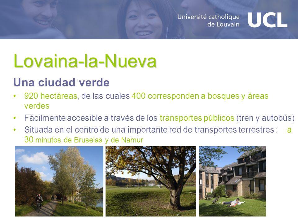 Lovaina-la-Nueva Una ciudad verde
