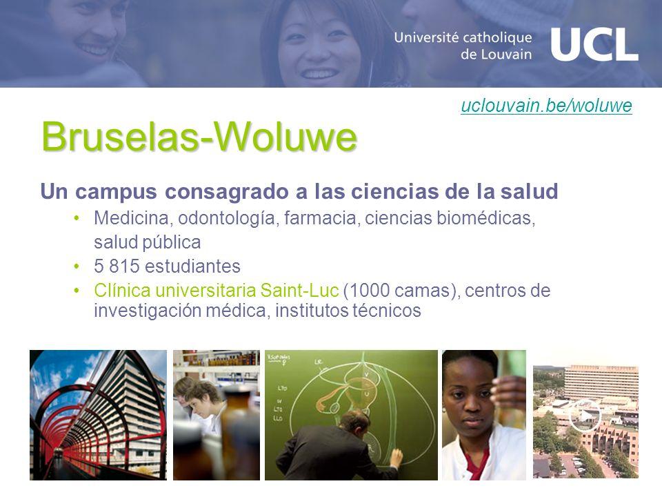 Bruselas-Woluwe Un campus consagrado a las ciencias de la salud
