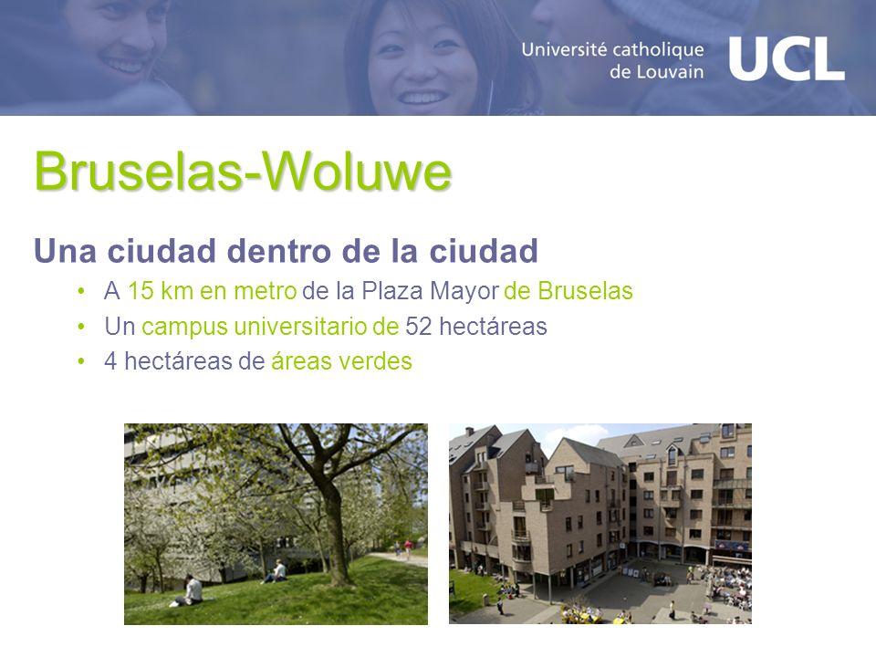 Bruselas-Woluwe Una ciudad dentro de la ciudad