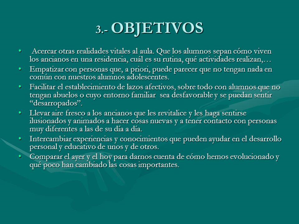 3.- OBJETIVOS