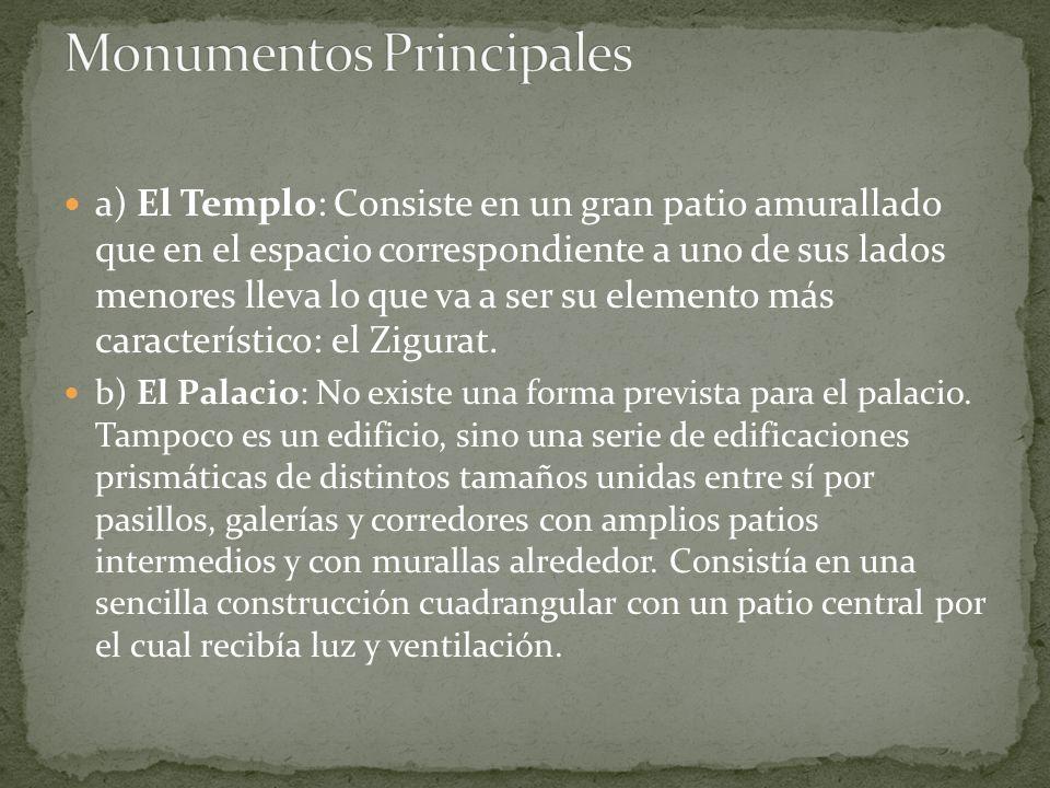 Monumentos Principales