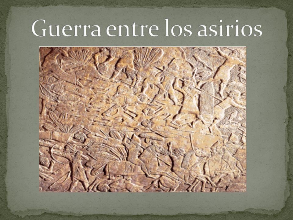 Guerra entre los asirios