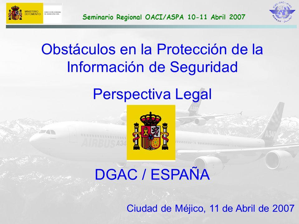 Obstáculos en la Protección de la Información de Seguridad