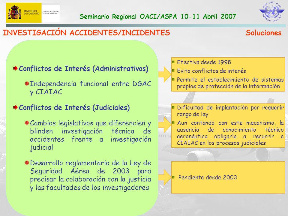 INVESTIGACIÓN ACCIDENTES/INCIDENTES Soluciones