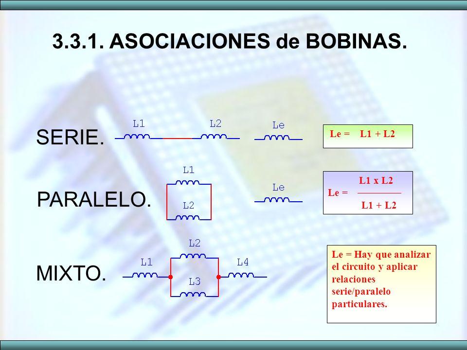 3.3.1. ASOCIACIONES de BOBINAS.
