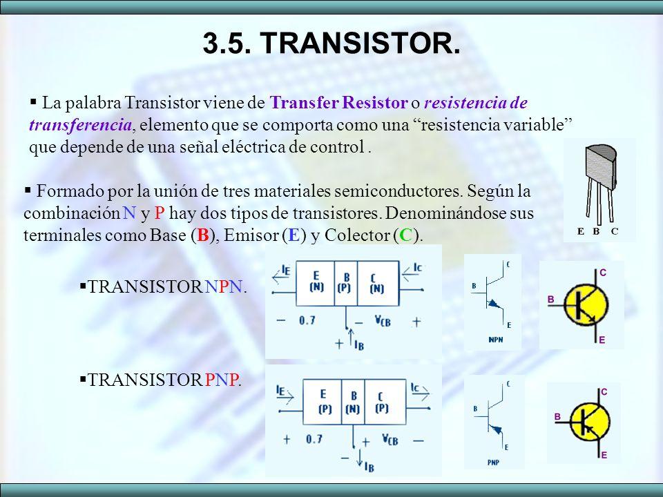 3.5. TRANSISTOR.