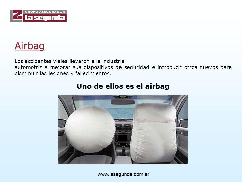 Uno de ellos es el airbag