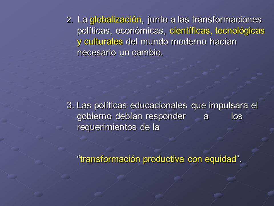 transformación productiva con equidad .
