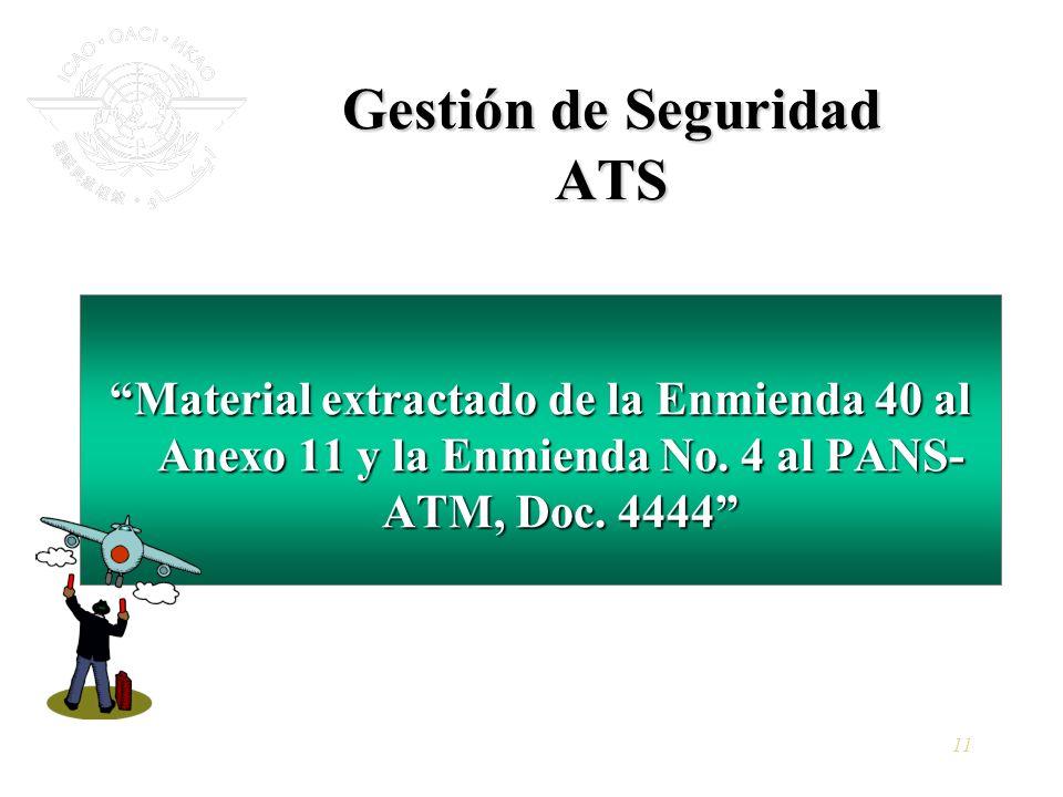 Gestión de Seguridad ATS