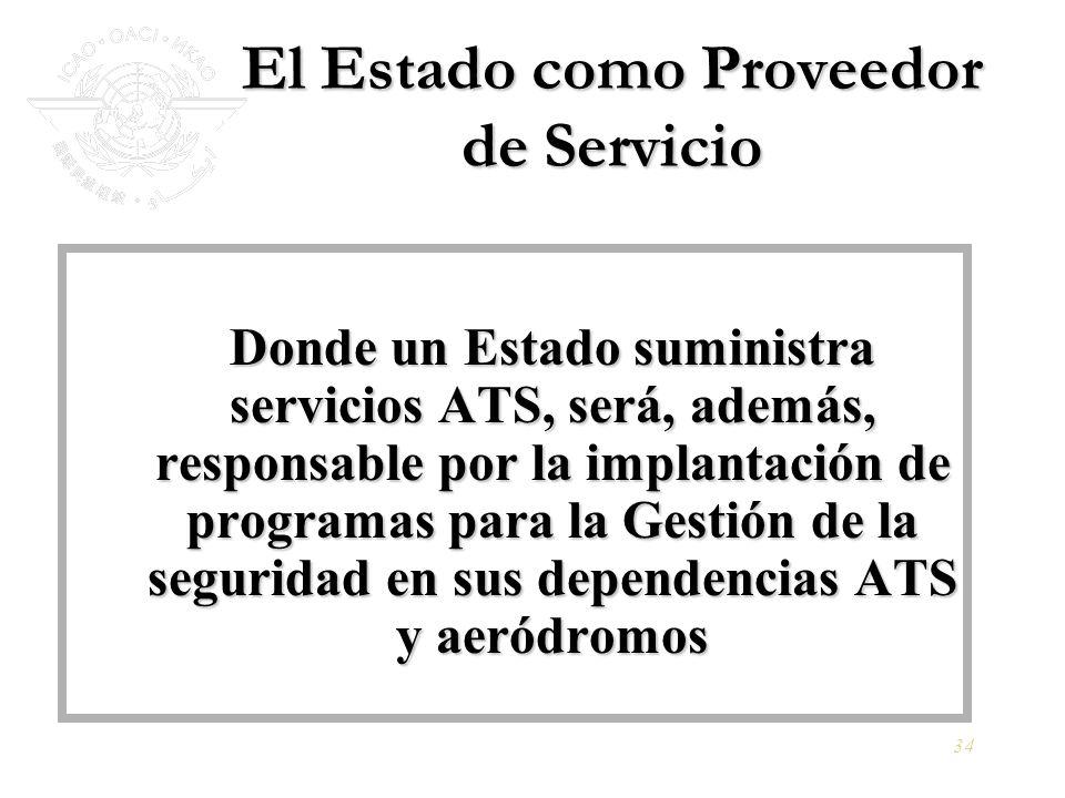 El Estado como Proveedor de Servicio
