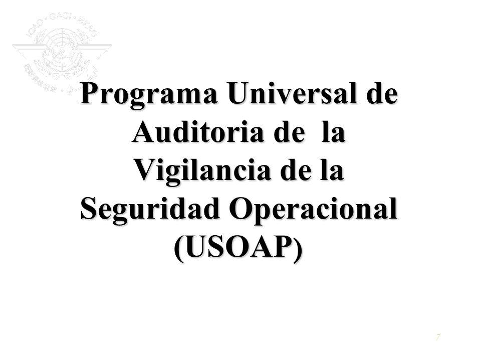 Programa Universal de Auditoria de la Vigilancia de la Seguridad Operacional (USOAP)