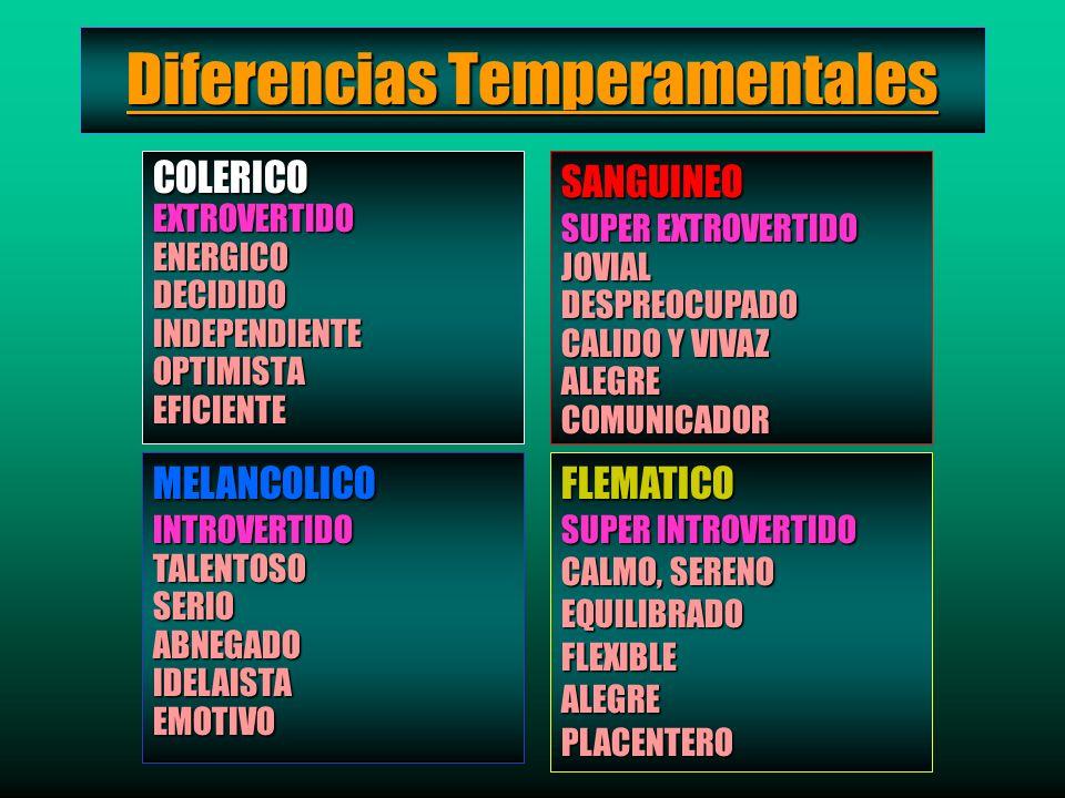 Diferencias Temperamentales