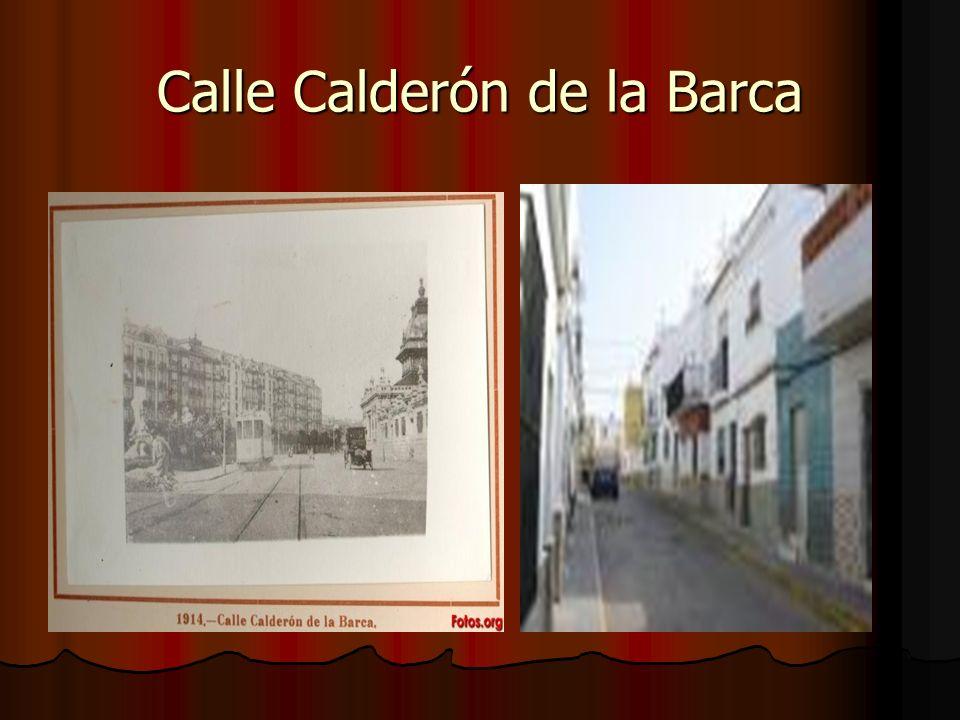 Calle Calderón de la Barca