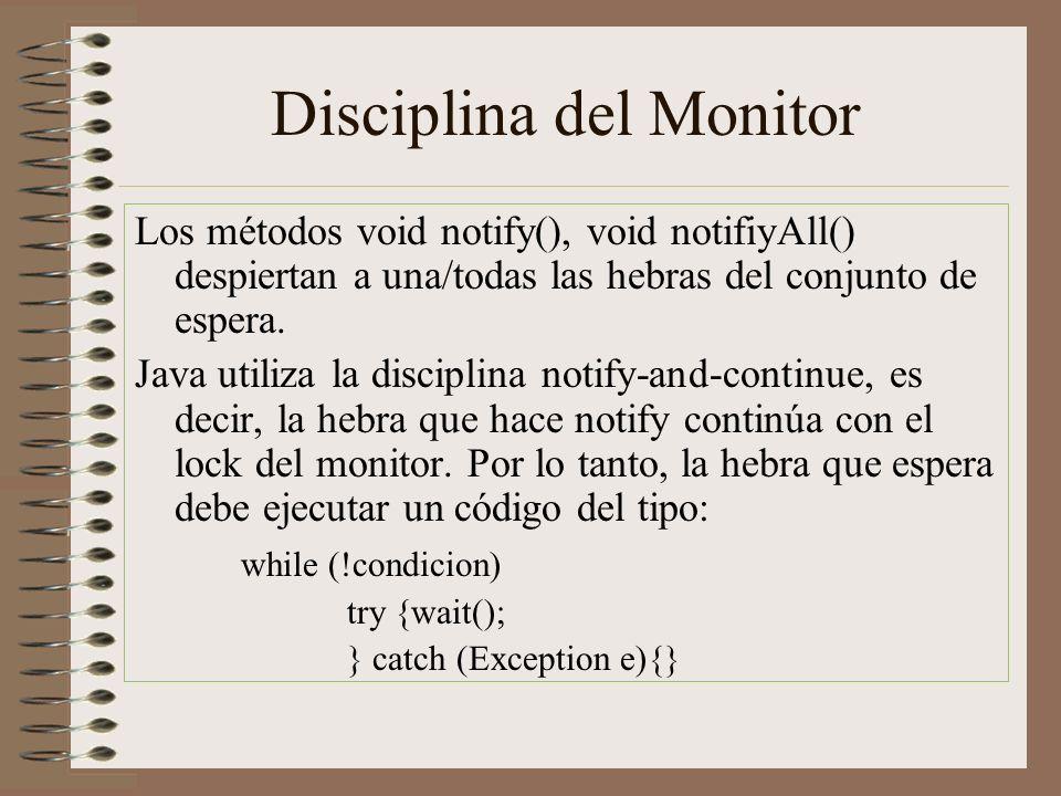 Disciplina del Monitor