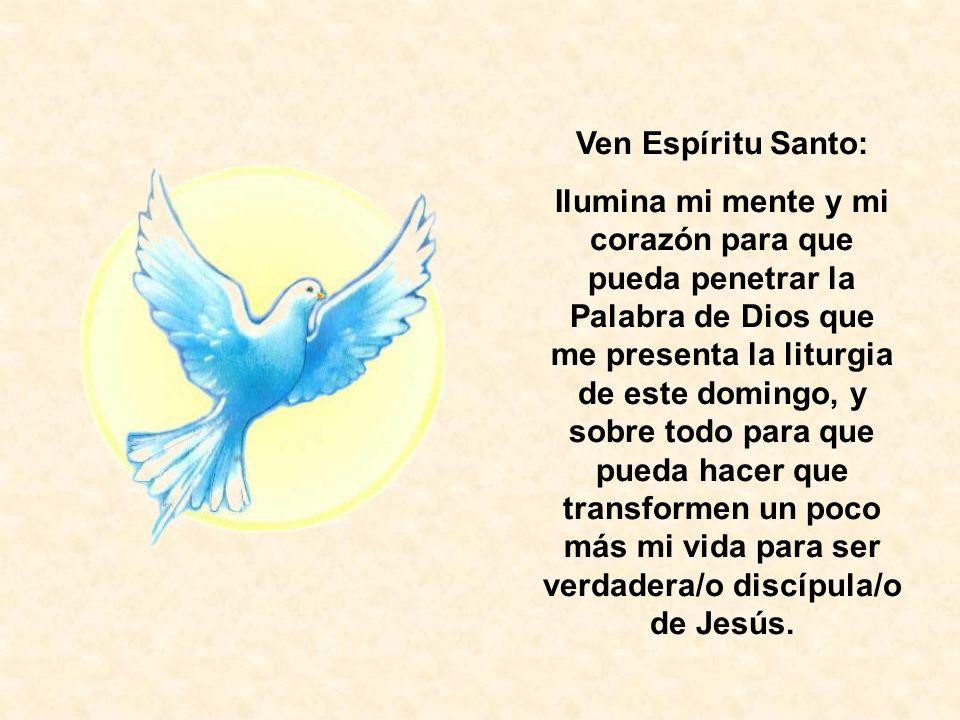 Ven Espíritu Santo: