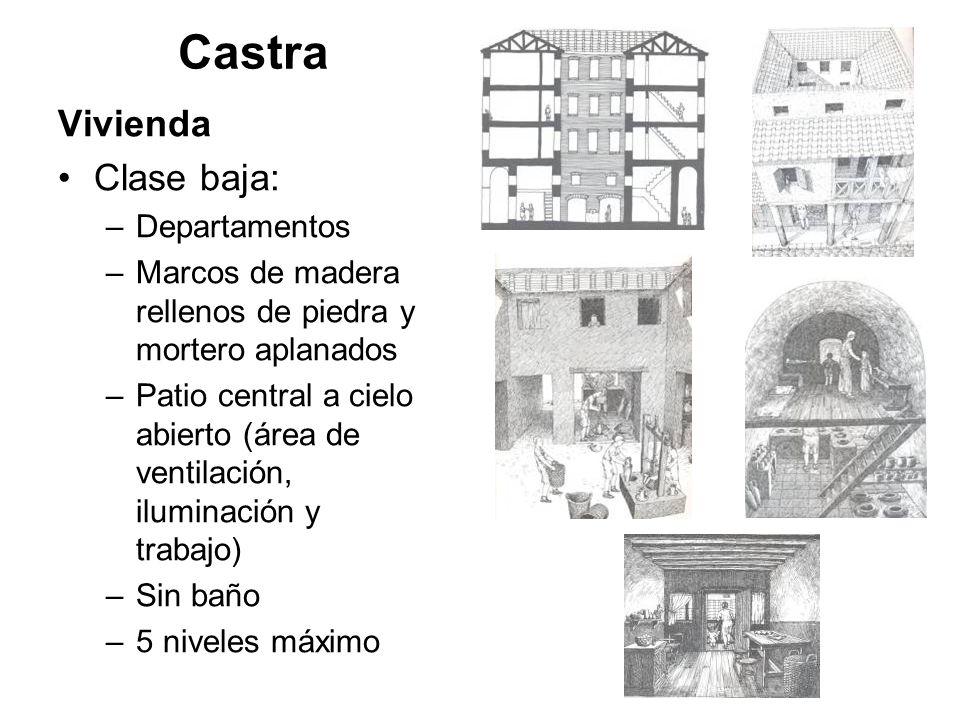 Castra Vivienda Clase baja: Departamentos
