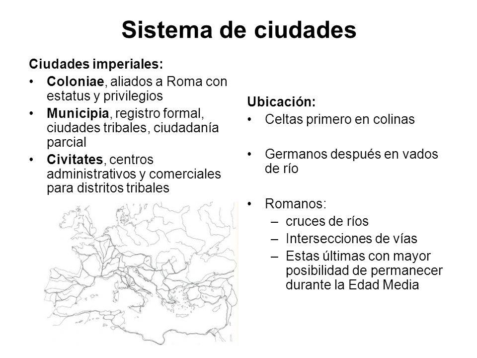 Sistema de ciudades Ciudades imperiales:
