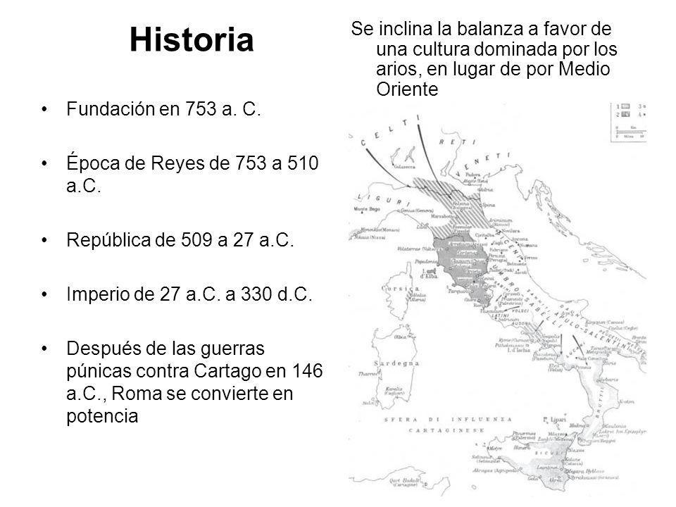Historia Se inclina la balanza a favor de una cultura dominada por los arios, en lugar de por Medio Oriente.
