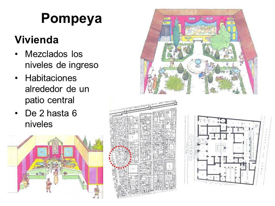 Pompeya Vivienda Mezclados los niveles de ingreso