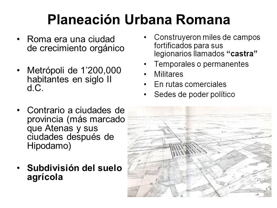 Planeación Urbana Romana