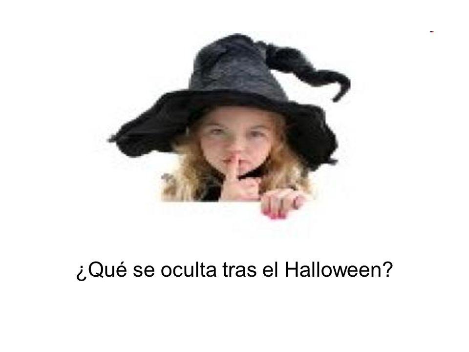 ¿Qué se oculta tras el Halloween