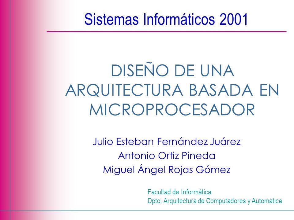 Sistemas Informáticos 2001