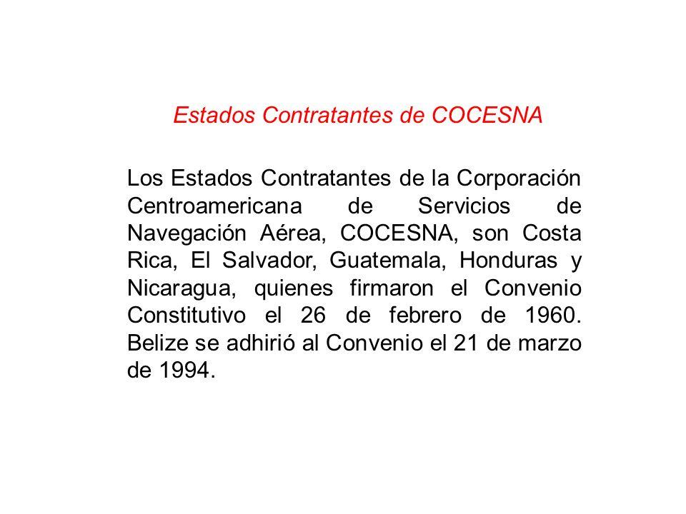 Estados Contratantes de COCESNA