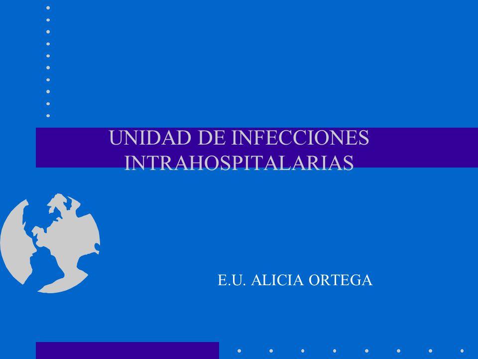 UNIDAD DE INFECCIONES INTRAHOSPITALARIAS