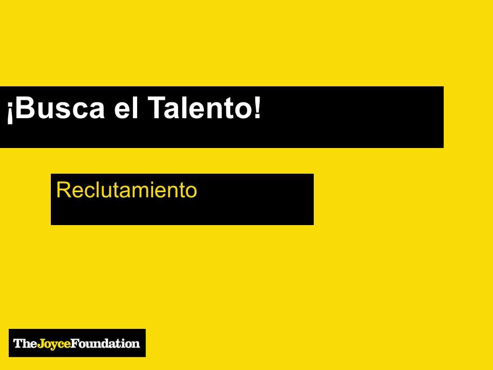 ¡Busca el Talento! Reclutamiento