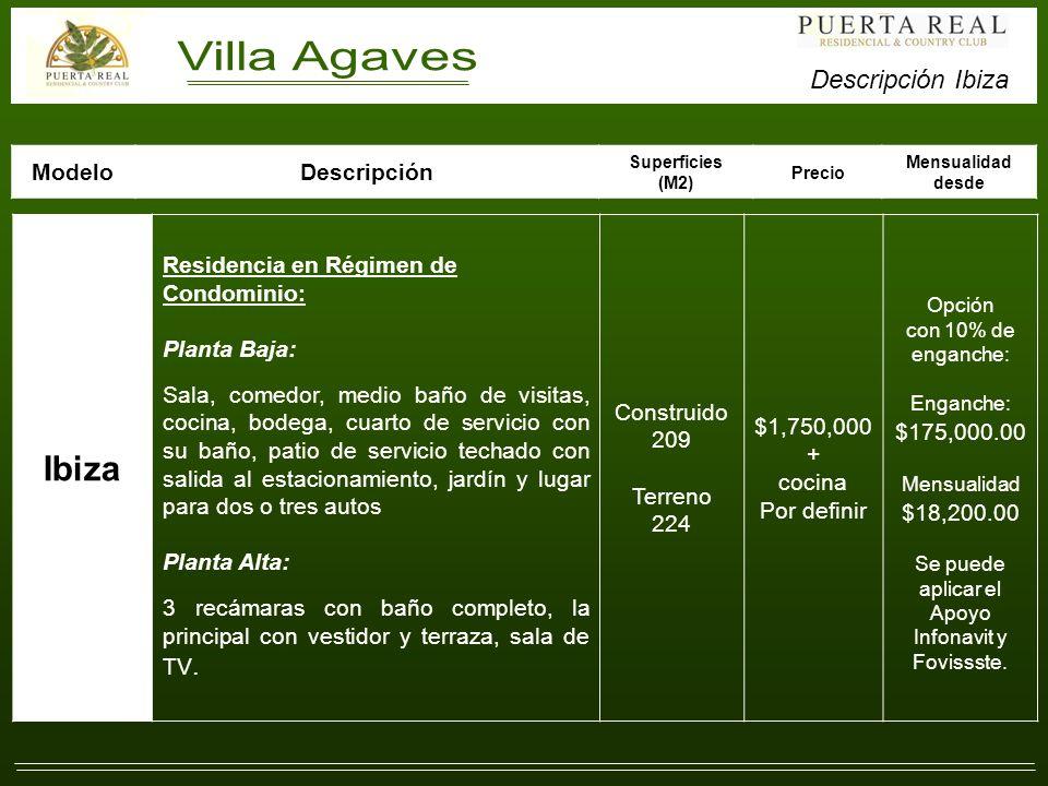 Villa Agaves (Residencias Ibiza).