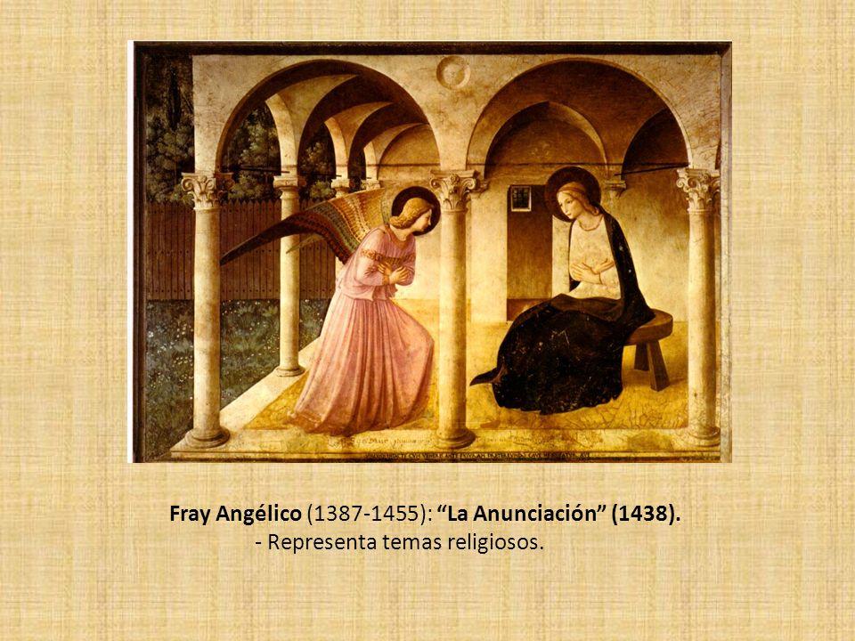 Fray Angélico (1387-1455): La Anunciación (1438).