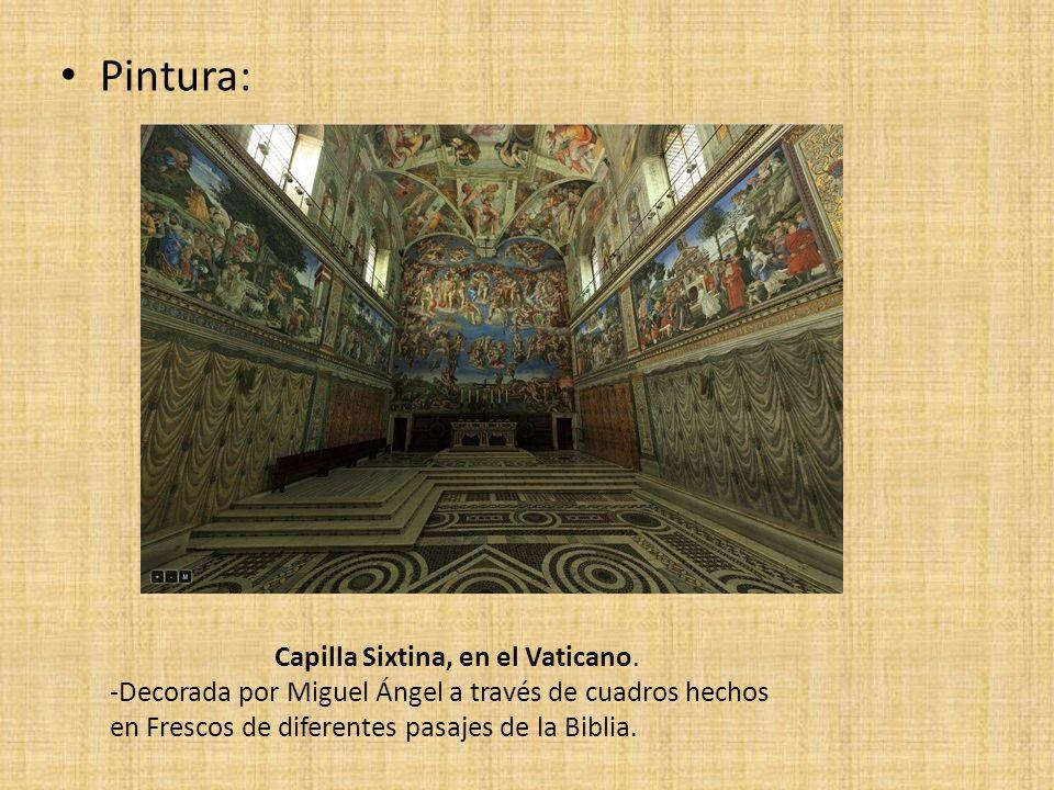 Capilla Sixtina, en el Vaticano.