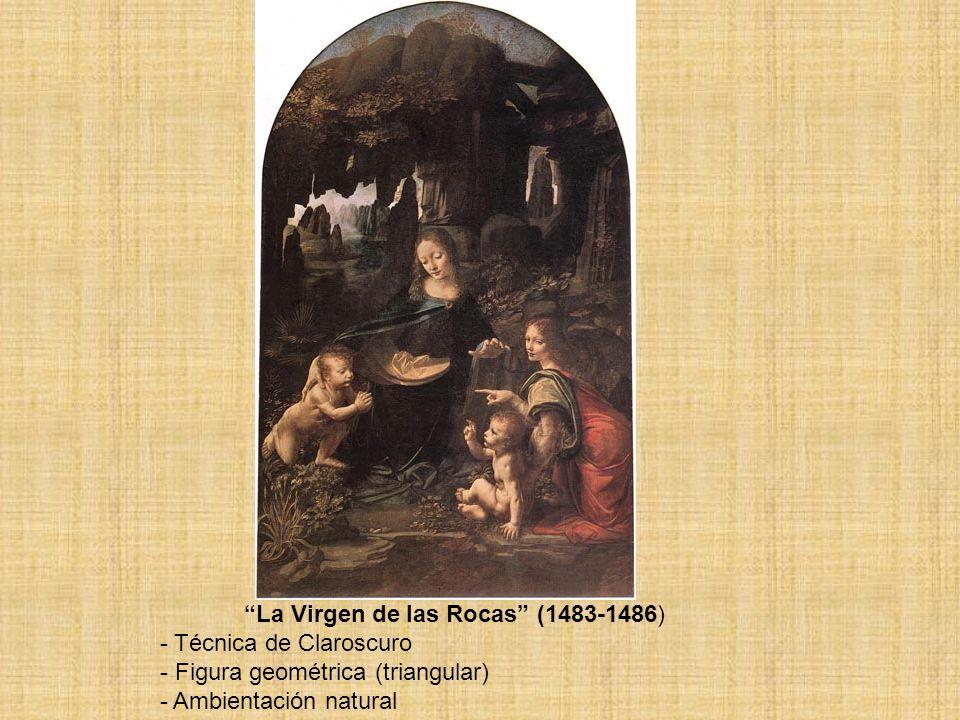 La Virgen de las Rocas (1483-1486)