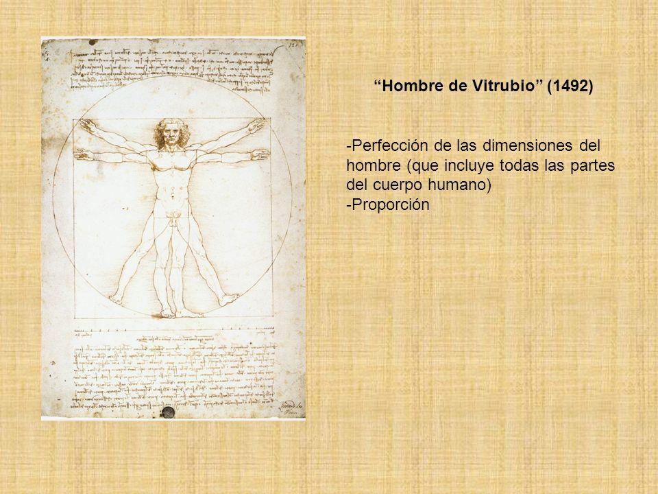 Hombre de Vitrubio (1492)