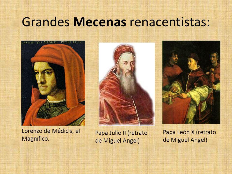 Grandes Mecenas renacentistas: