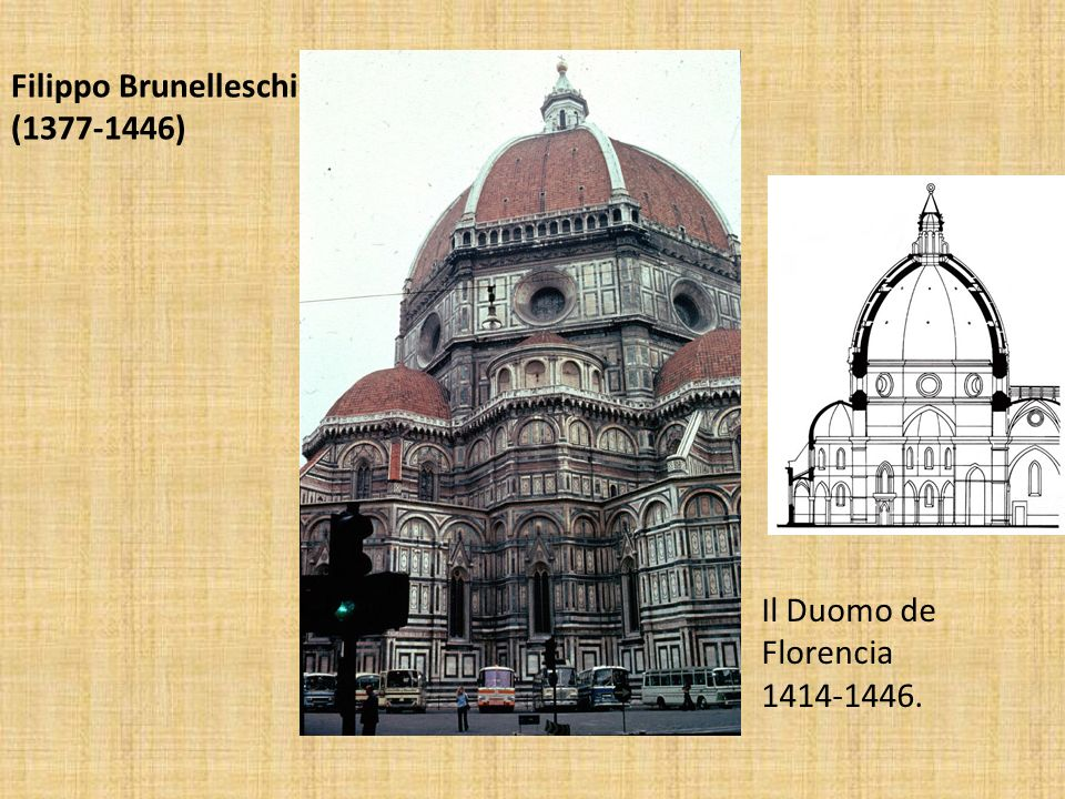 Filippo Brunelleschi (1377-1446) Il Duomo de Florencia 1414-1446.