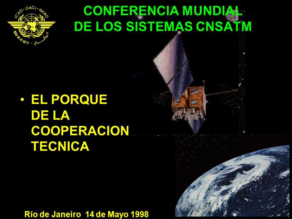 CONFERENCIA MUNDIAL DE LOS SISTEMAS CNSATM