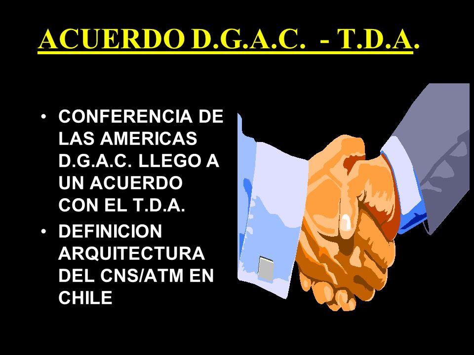 ACUERDO D.G.A.C. - T.D.A. CONFERENCIA DE LAS AMERICAS D.G.A.C.