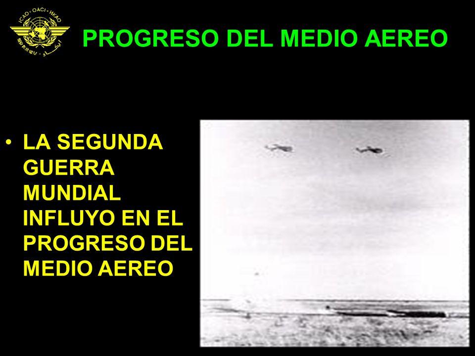 PROGRESO DEL MEDIO AEREO