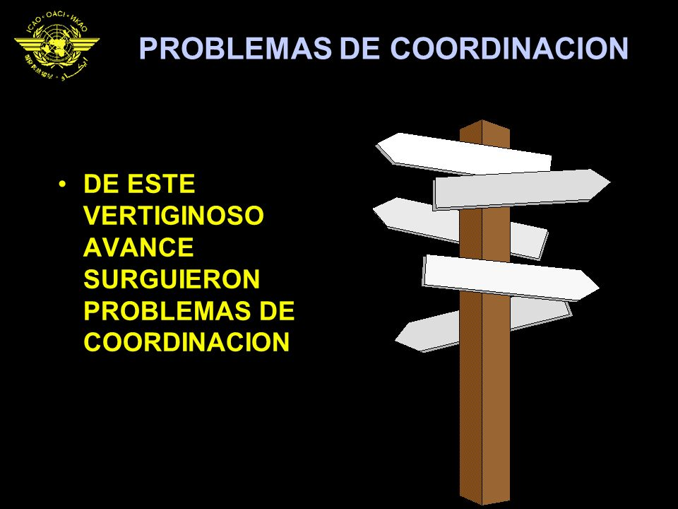 PROBLEMAS DE COORDINACION