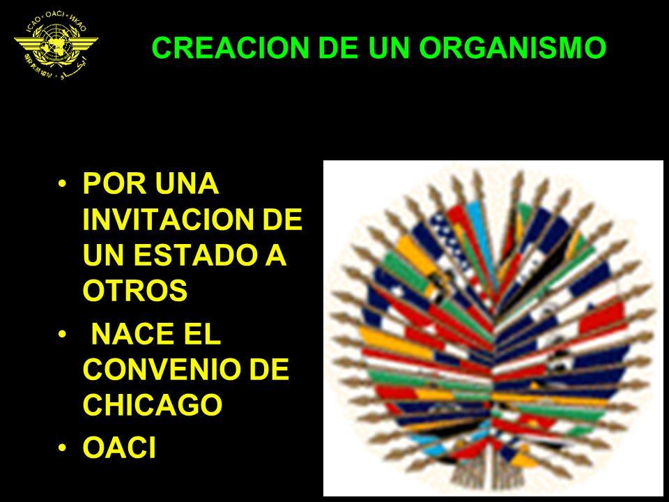 CREACION DE UN ORGANISMO