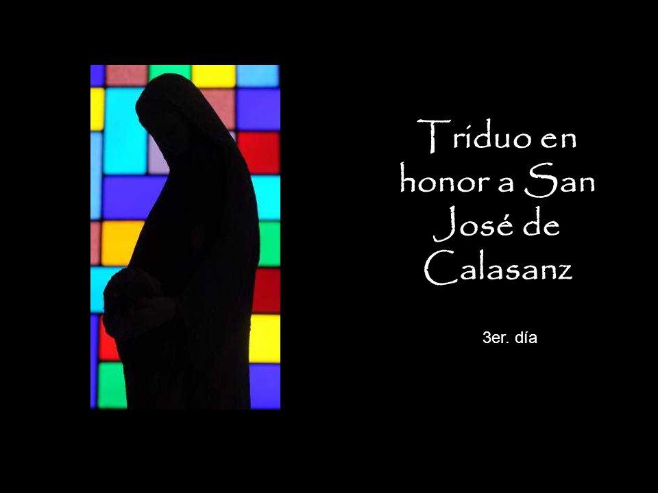 Triduo en honor a San José de Calasanz