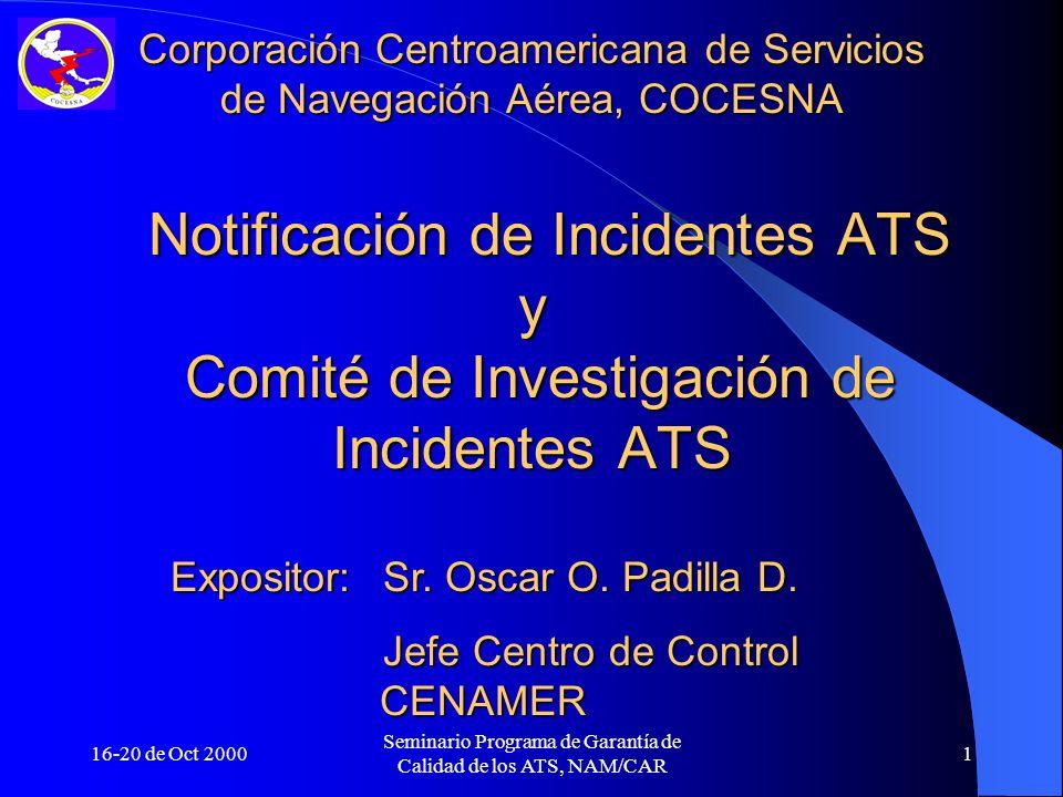 Corporación Centroamericana de Servicios de Navegación Aérea, COCESNA