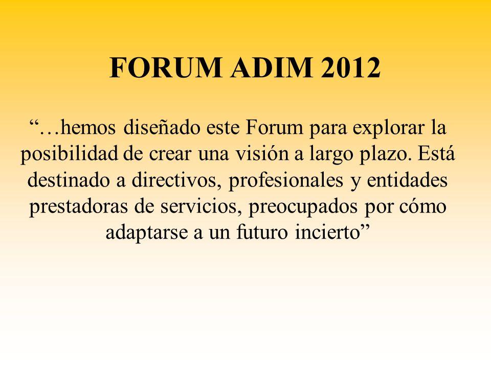 FORUM ADIM 2012