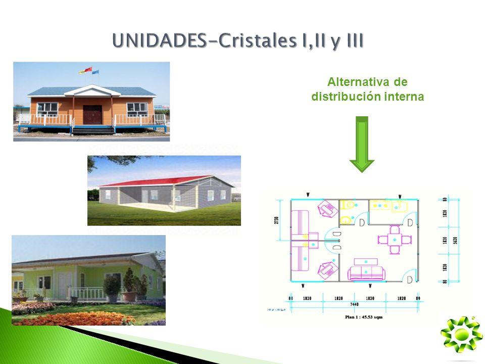 UNIDADES-Cristales I,II y III