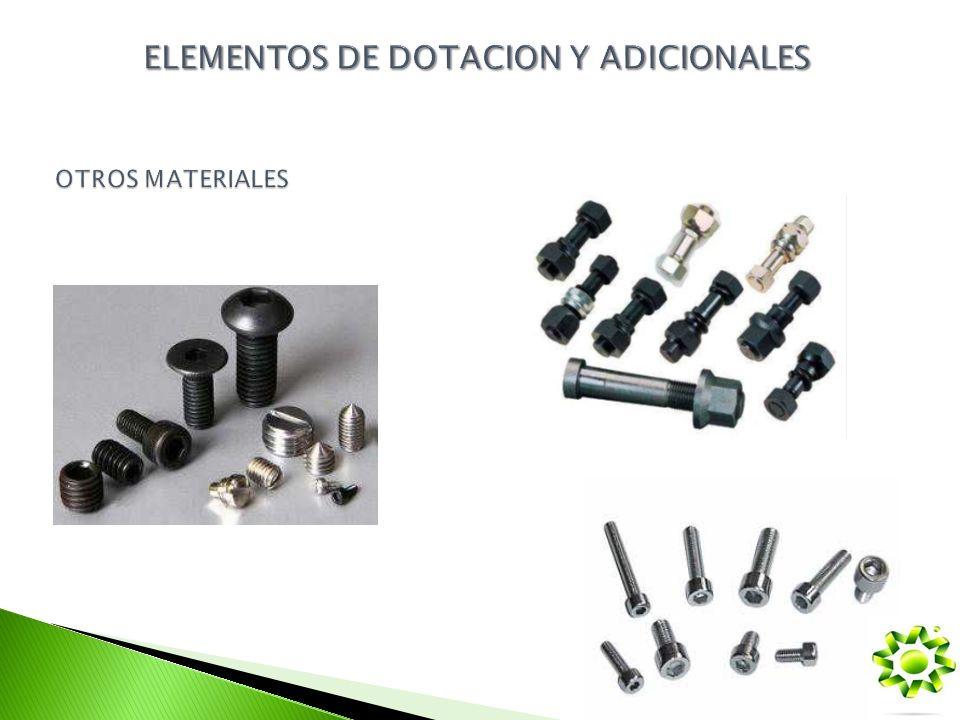 ELEMENTOS DE DOTACION Y ADICIONALES