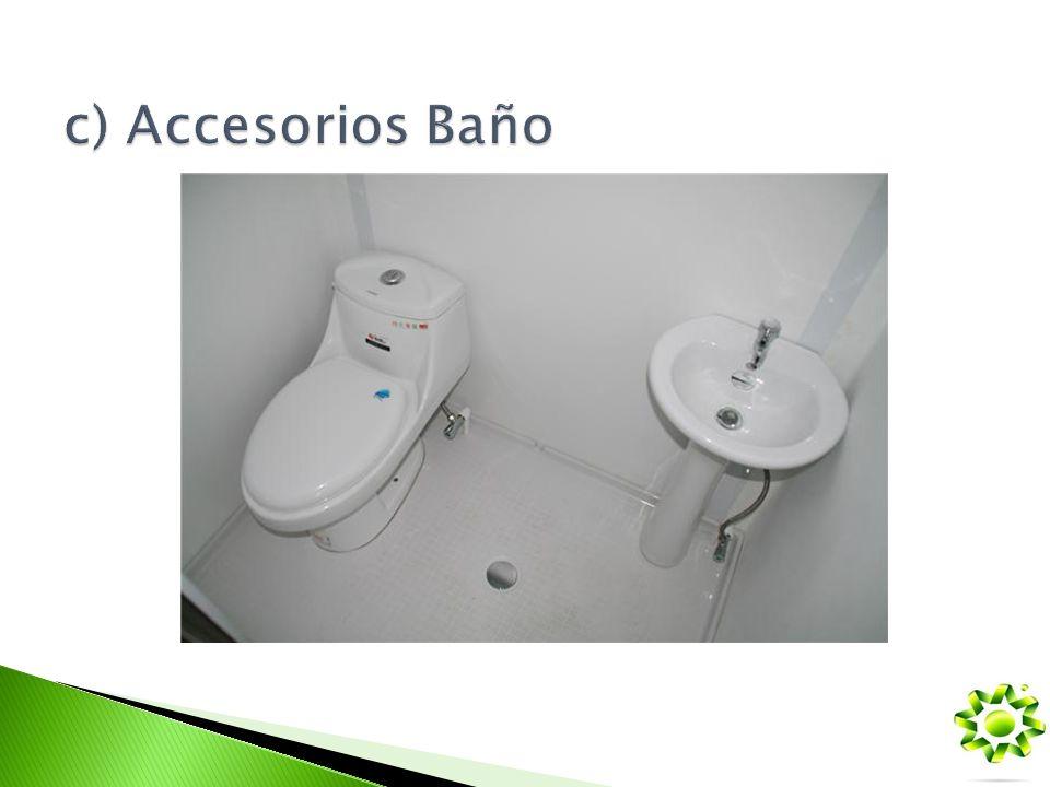 c) Accesorios Baño