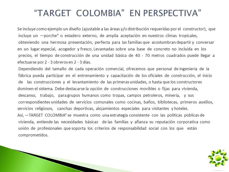 TARGET COLOMBIA EN PERSPECTIVA
