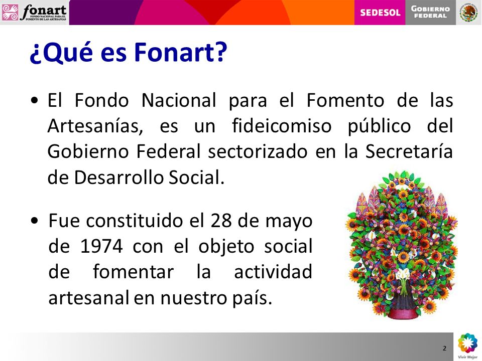 ¿Qué es Fonart