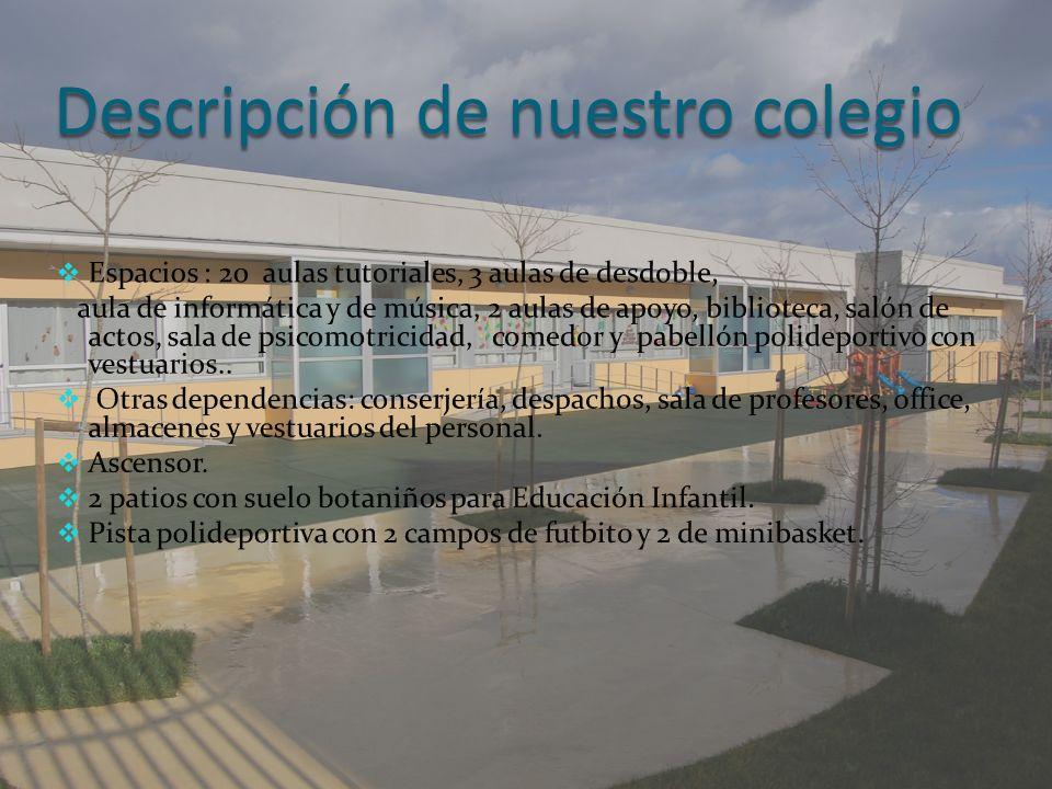 Descripción de nuestro colegio